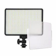 Ampoules pour appareil photo, 30W 5600K/3200K, 396 ampoules, lampe vidéo, éclairage photographique à intensité variable, pour Canon, Nikon, Pentax, DSLR