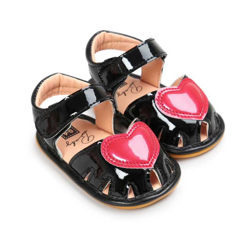 Baby Girls Shoes Princess Style Cute Heart Pattern Anti-skid Baby Shoes Sweet Baby Girls Shoes Princess Style Cute Heart Pattern Anti-skid Baby Shoes Sweet