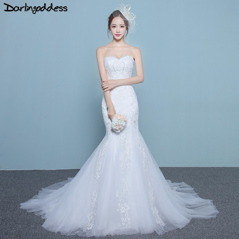 Darlingoddess Vestido De Noiva Cheap Wedding Dresses 2017 Off the ...