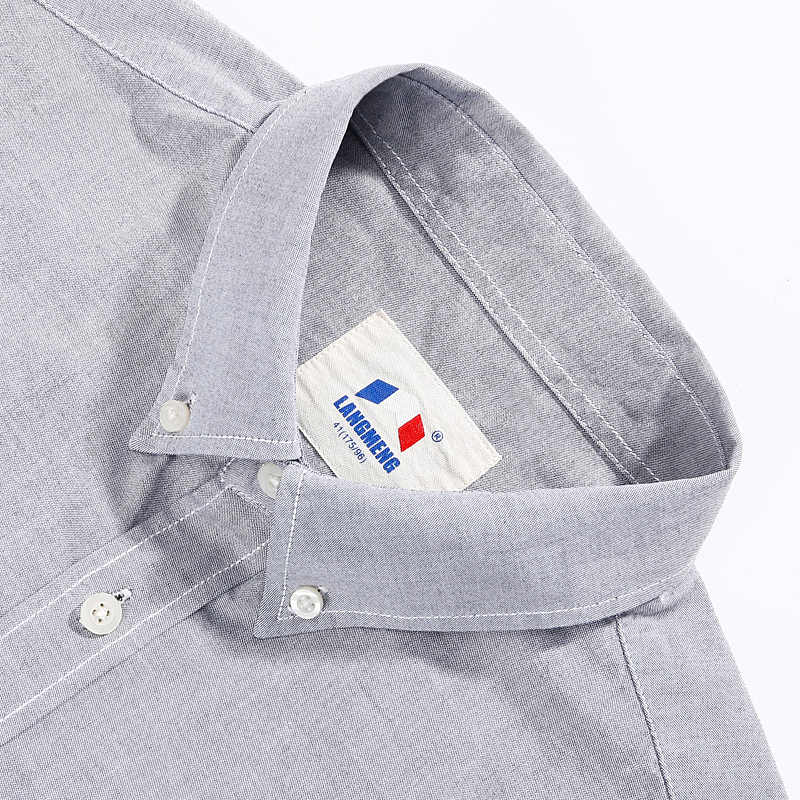 Verano primavera 100% algodón oxford hombres vestido camisa de manga larga casual camisas hombre camisa masculina hombre camisa social tela delgada