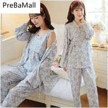 Get more info on the New Arrive 3 pcs Breastfeeding Pajamas For Pregnant Women Long Sleeve Maternity Nursing Sleepwear Pregnancy Clothing Sets D0006