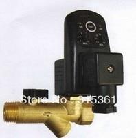 Free Shipping High Quality 1 2 Electronic Automatic Timer Drain Valve AC220V Model EDV 15T