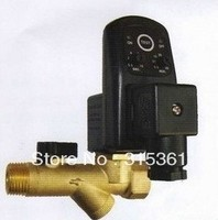 Free Shipping High Quality 1 2 Electronic Automatic Timer Drain Valve AC220V Model EDV 15T