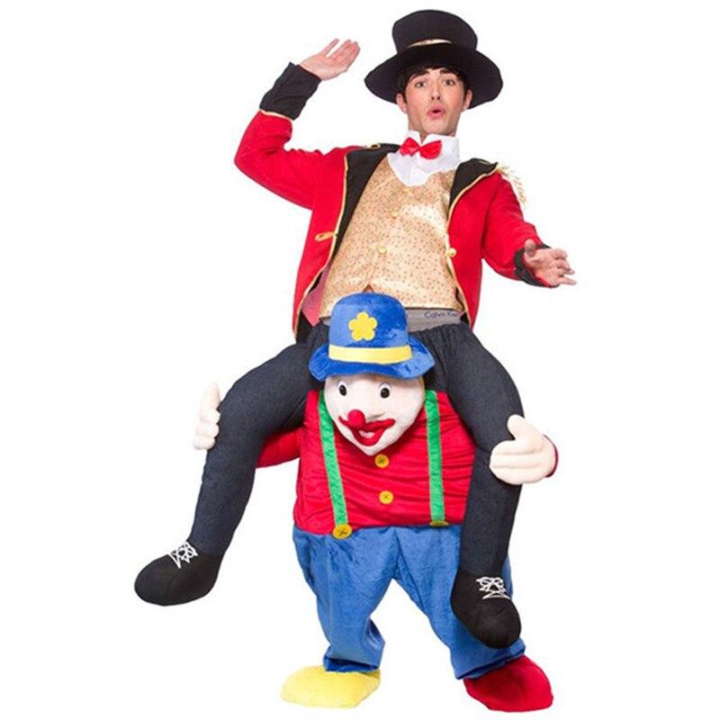Nouveauté Tour sur Me Mascotte Costumes Transporter Dos Drôle Animal Pantalon Oktoberfest Halloween Party Cosplay Vêtements Équitation Jouets - 6
