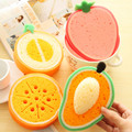 Fruit Thick Sponge Scouring Cloth To Clean Wash Dishes Do Not Stick Oil Kitchen Towel Tea Towels Cleaning Lot /14*11.5*3.5cm