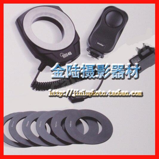 Godox remarking led flasher light ring 48 macro len general