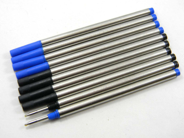 5pc Blue or 5pc black Offer Special Ink  Roller Ball Pen refills 1