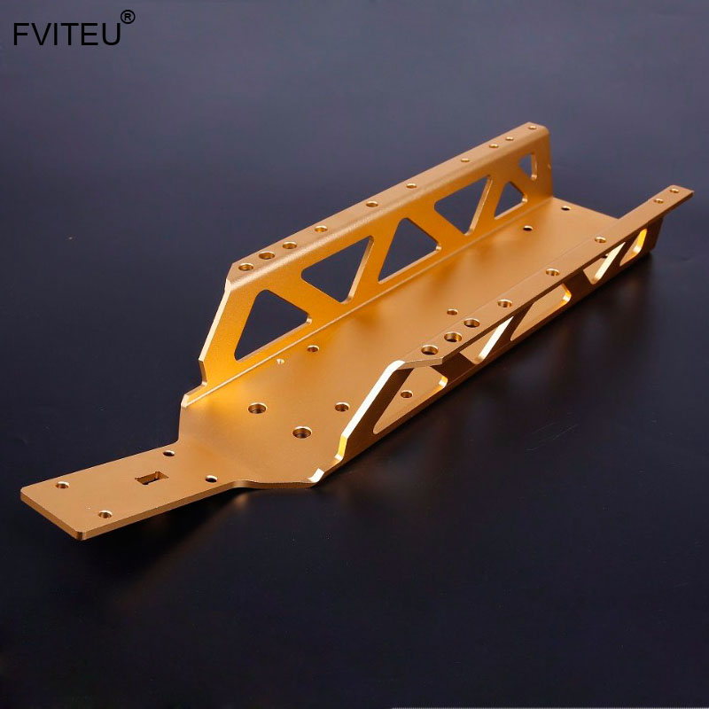 FVITEU Metal Main Frame Chassis For 1/5 HPI Baja 5b Ss 5t 5sc Rovan King Motor