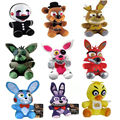 Newest Five Nights at Freddy's 4 Stuffed Plush Toy Game Role Cartoon Animal Doll Kids Children Gift Freddy Bonnie Foxy Chica