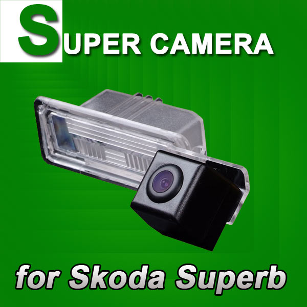 Car rear view parking back up reverse Camera For Skoda Superb VW Passat Polo Golf Seat