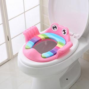 Urinal-Trainer Potty Training-Toilet-Seat-Covers Travel PP Baby Kids Three-Colors 1-6Y