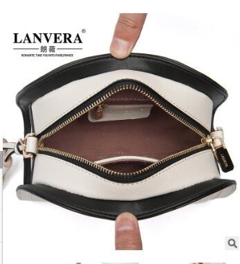 2018 new leather women s bag cow leather fashion tassels single shoulder slanting saddle women s