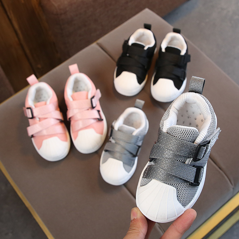 New 2018 fashion solid candy color children casual shoes high quality classic kids boots cool baby girls boys shoes sneakers