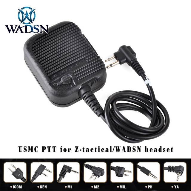 Sale USMC Intercom softair PTT WADSN/Z tactical radio