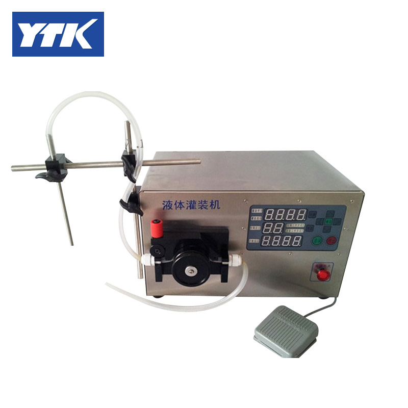 Precise peristaltic Pump Filling Machine Water Filling Machine (For small volume) food grade small volume peristaltic pump intelligent numerical control liquid filling machine gr1 6b