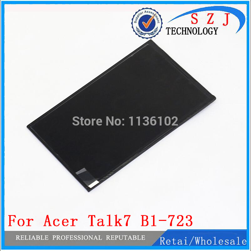 New 7 inch For Acer Iconia Talk7 B1-723 Tablet LCD display Screen Replacement Repair Part Free shipping new 7 inch 30 pin tablet lcd screen kr070ie6t free shipping