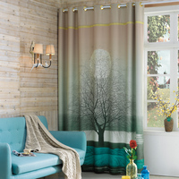 Personal Tailor 2x 200x260cm Window Draperies Chinese Curtain Living Room Window Dressing