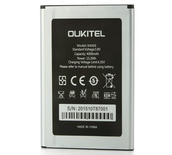 цена на New Oukitel K4000 Battery Original High Quality 4600mAh Battery Replacement For Oukitel K4000 Smart Phone In stock