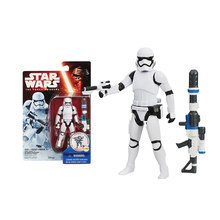 Star Wars Cartoon Phasma Poe Dameron Stormtrooper Action Figure Collection Doll Model Toy for Children Gifts(China)