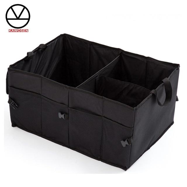 KAWOSEN 600D Oxford Stowing Tidying Interior Holders, Car Foldable Trunk Organizer Storage Bags,Universal Auto Rear Racks HDTO02