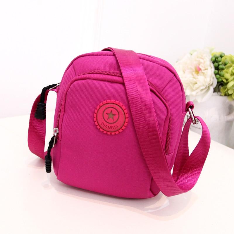 QZH Fashion 2017 New Canvas Mini Casual Messenger Bags For Kids Women Men  Crossbody Bag Waterproof 9bac4c93e7ab3