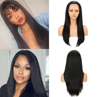 Remy Forte Lace Front Human Hair Wigs 100% Remy Brazilian Wigs Straight Lace Front Wig Long and Short Real Human Hair Wigs