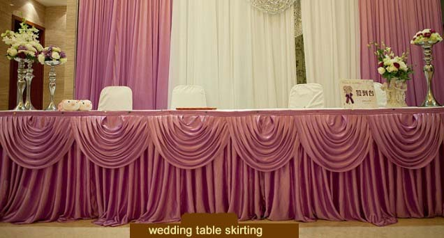 Tableskirt Table Cover Belt Table Skirt Wedding Props Supplies Table  Skirting 3 Meters Long In Table Skirts From Home U0026 Garden On Aliexpress.com  | Alibaba ...