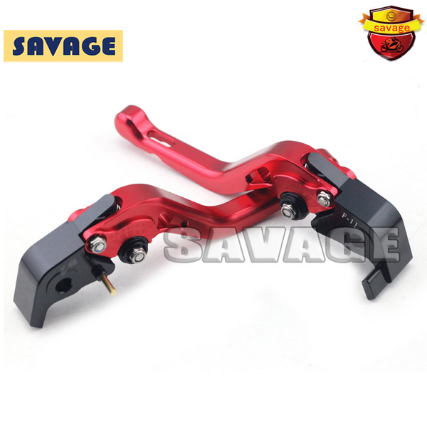 For DUCATI MULTISTRADA 1200 2015 Red Motorcycle Accessories CNC Aluminum Short Brake Clutch Levers free shipping for ducati multistrada 1200 s m1100 s evo motorcycle accessories cnc adjustable folding brake clutch levers red