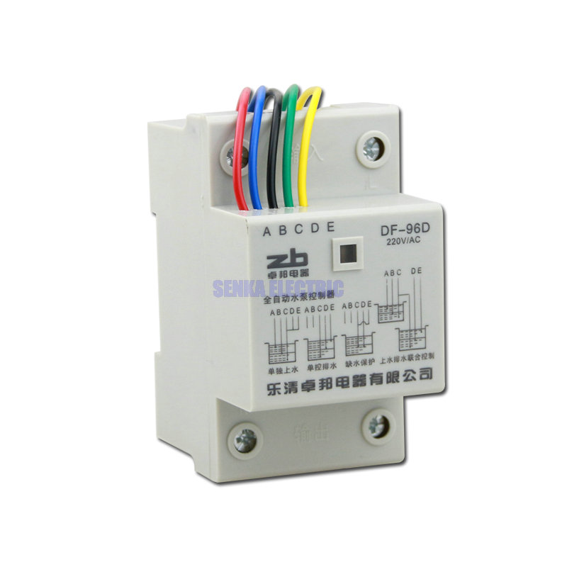цена 220V 5A Din Rail Automatic Water Liquid Lever Controller Float Switch