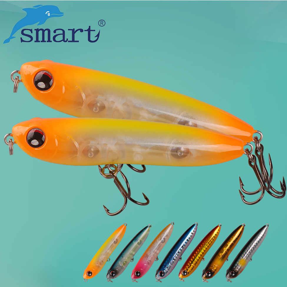 Inteligentna przynęta ołówkowa 70mm/8.4g pływające przynęty twarde przynęty Pesca Isca sztuczne Leurre Peche Souple Luis Vuiton Swimbait