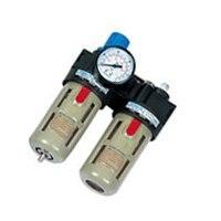 цены на Free Shipping Airtac 1/4'' BFC2000 Air Filter Regulator Lubricator Combination 5pcs In Lot в интернет-магазинах