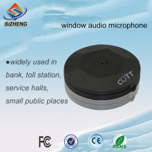 SIZHENG COTT-C1 Audio pick up mini window low noise cctv microphone sound monitors for CCTV cameras