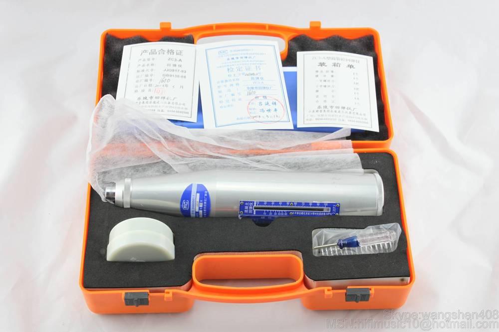 Nova alta qualidade Resiliometer Rebound Concreto Martelo Tester Rebound Concrete Teste Schmidt Martelo + Frete grátis DHL/Fedex