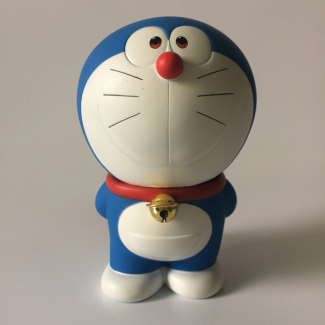 Doraemon Stand By Me Action Figure 1/8 scale painted figure Hands at the back Ver. Doraemon Doll PVC ACGN figure Toy Anime 16CM