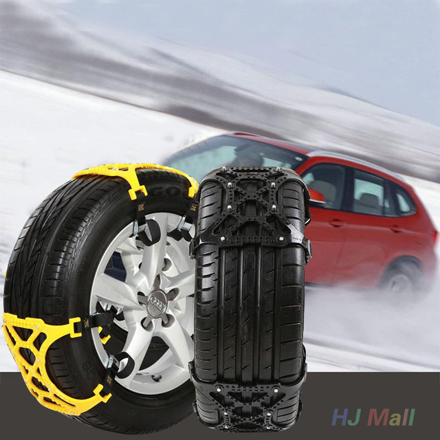 Auto Car Vehicle Truck Snow Tire Wheel Chain Anti-skid Universal Black
