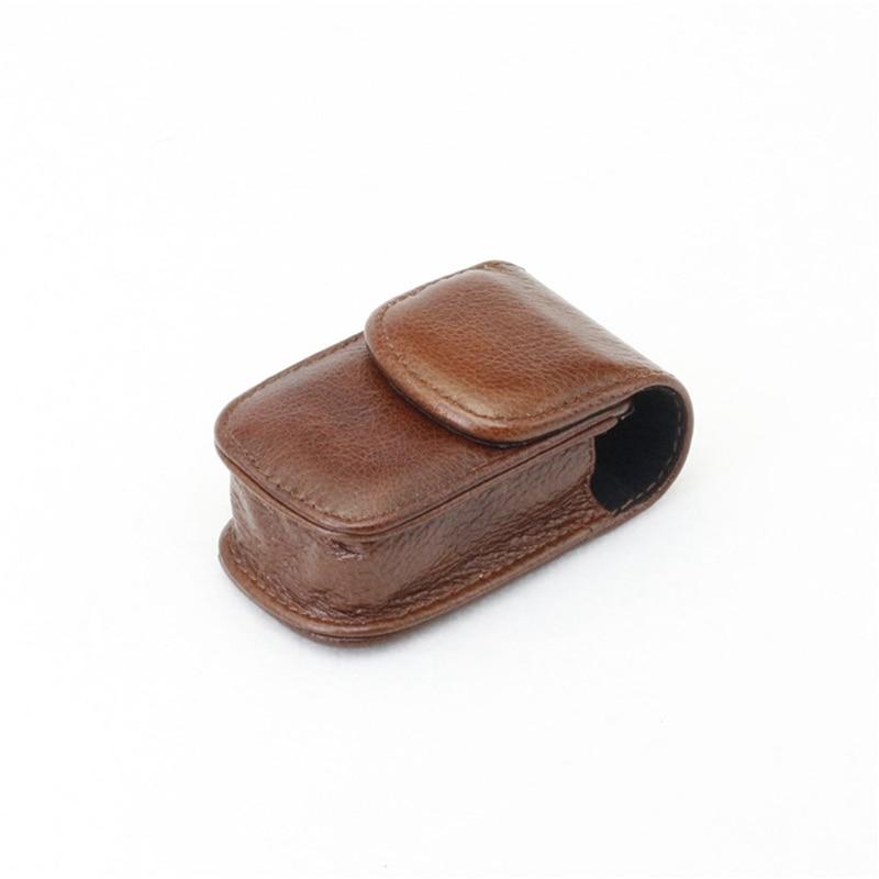 Kreativ Swokence Großhandel Hohe Qualität Künstliche Leder Quadrat Box Für Folding Lesebrille Kaffee Snap Verschluss Brillen Fall G105 Accessoires