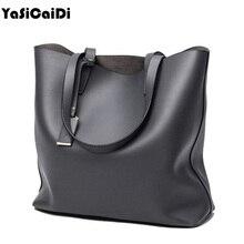 Famous Brand High PU Leather Women's Handbags Large Single Black Casual Shoulder Bags Fashion Ladies Shoulder Bags sac a main