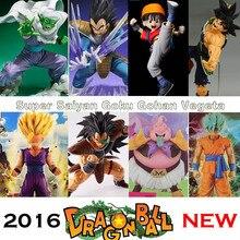 Dragon Ball Z Super Blue Hair Goku Vegeta PVC Action Figure dbz Pan Picollo Buu Raditz
