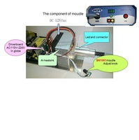 input full Voltage AC110 220v for LED medical endoscope lighting source module/High CRI90 LED knob controller SN1061 H