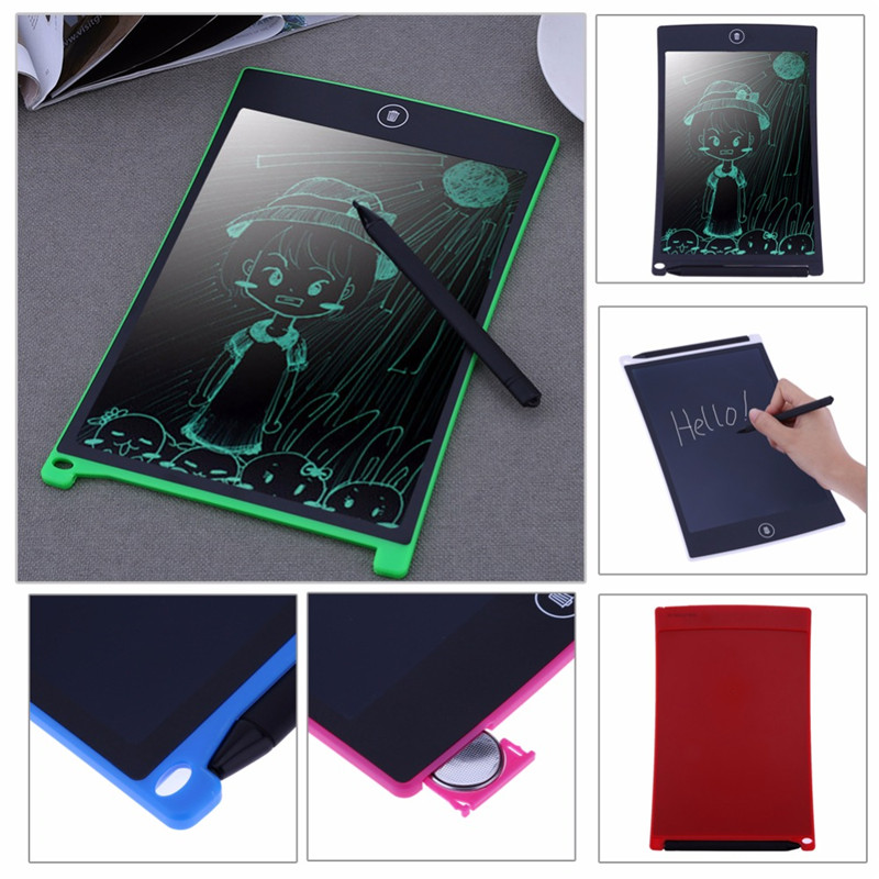 Drawing Toys 8.5 Inch LCD Writing Kids Board Tablet Erase Ultrathin E-Writer Tablet Electronic Paperless Handwriting Pad