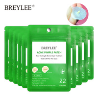 BREYLEE Acne Pimple Face Mask PeelingPatch Acne Treatment Acne Cream Pimple Remover Tool Blemish Spot Skin Care Daily Use 10PCS