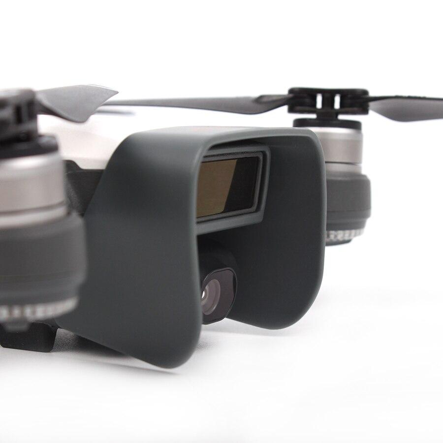 Обновлен DJI Spark с антибликовым покрытием Gimbal Камера защитная крышка объектива sunhood защита навес для DJI Spark Drone Интимные аксессуары