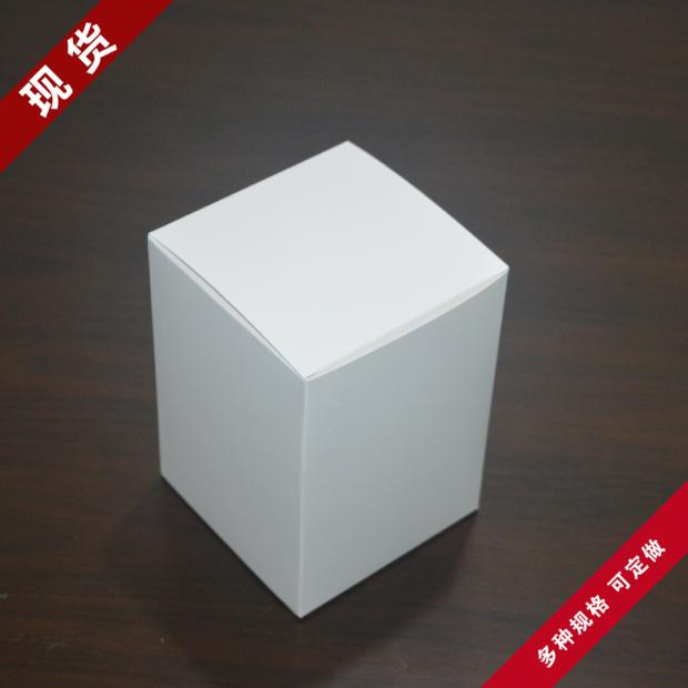 8*8*8cm White Kraft Paper Collection Package Boxes Handmade DIY Soap Business Card Gift Wedding Party Cupcake Cosmetic Pack Box