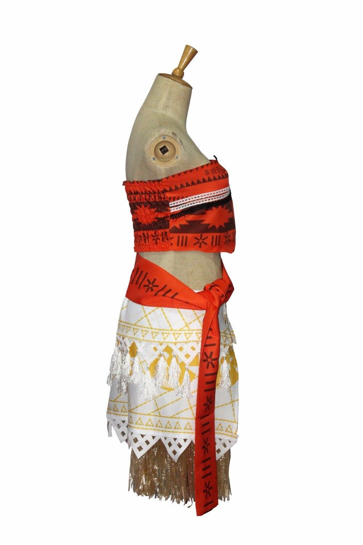 Թեժ վաճառք, 2018 Նոր կանանց կինոնկար Moana - Կարնավալային հագուստները - Լուսանկար 5