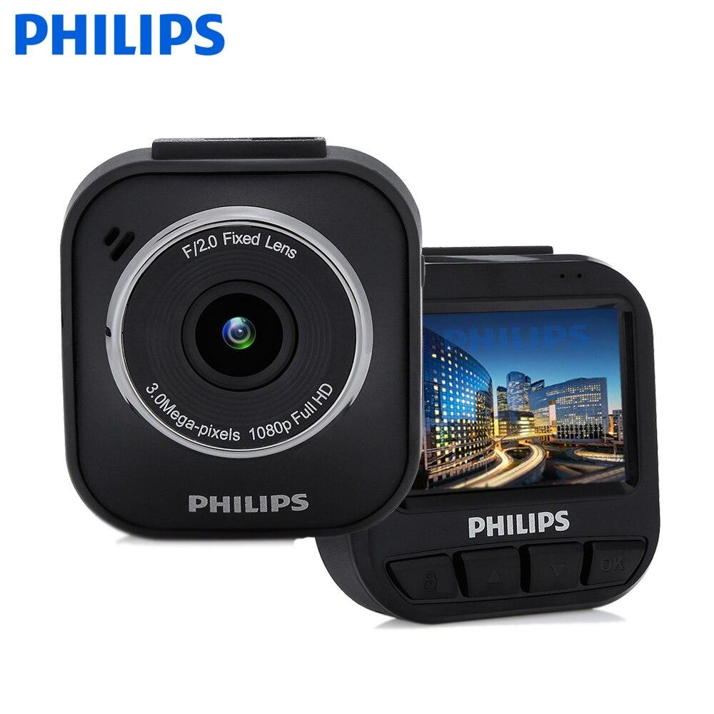 PHILIPS ADR610S Car Dash Cam 3.0 MP Camera 1080P Full HD DVR Full 6 layers Glasses Lens Car Driving Video Recorder
