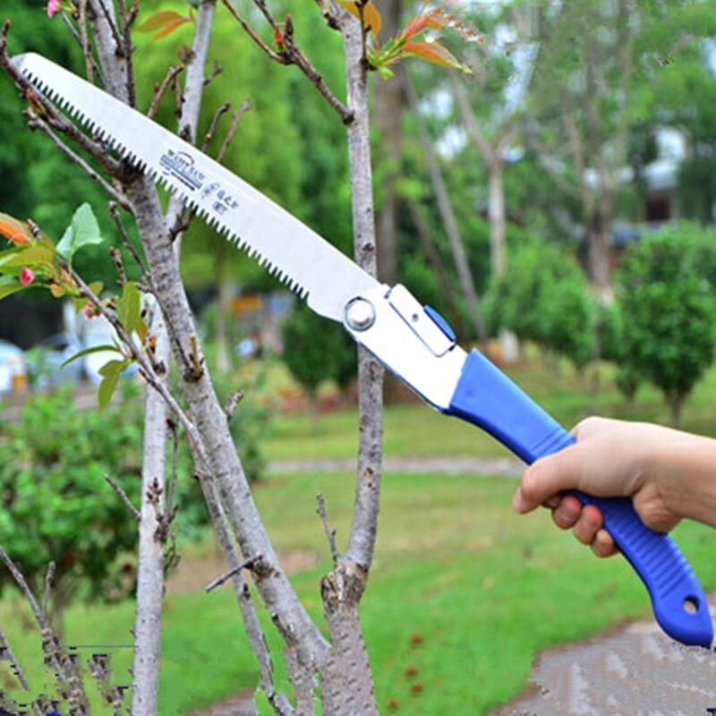 Mini Portable Home Manual Pruning Hacksaws Garden Folding Trimming Saw Pruning Garden Household Anti-skip Hand Steel Sawing Tool  цены