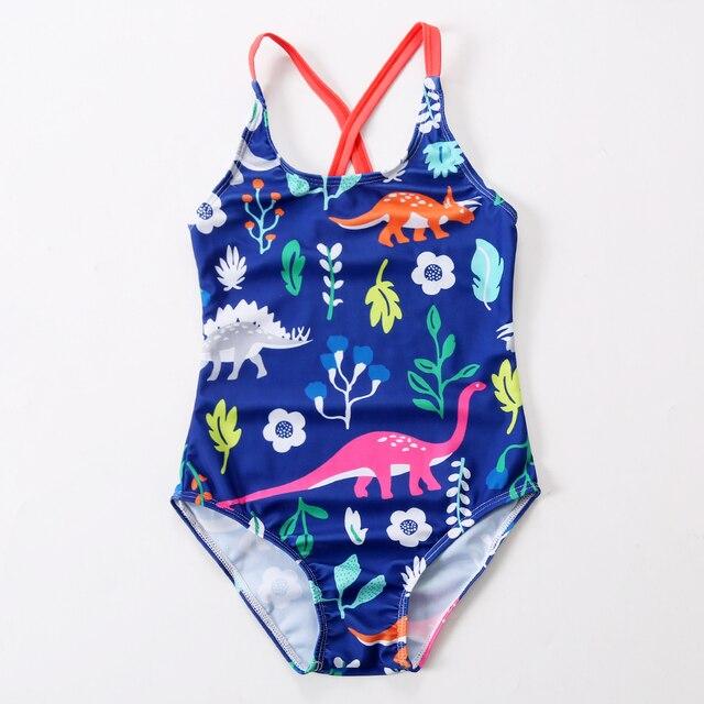 Kids Bathing Suits Girls One Piece Annimal Bikini Children Swimwear For Girls Infant Swimsuit Girl Child Summer Bikini 2019