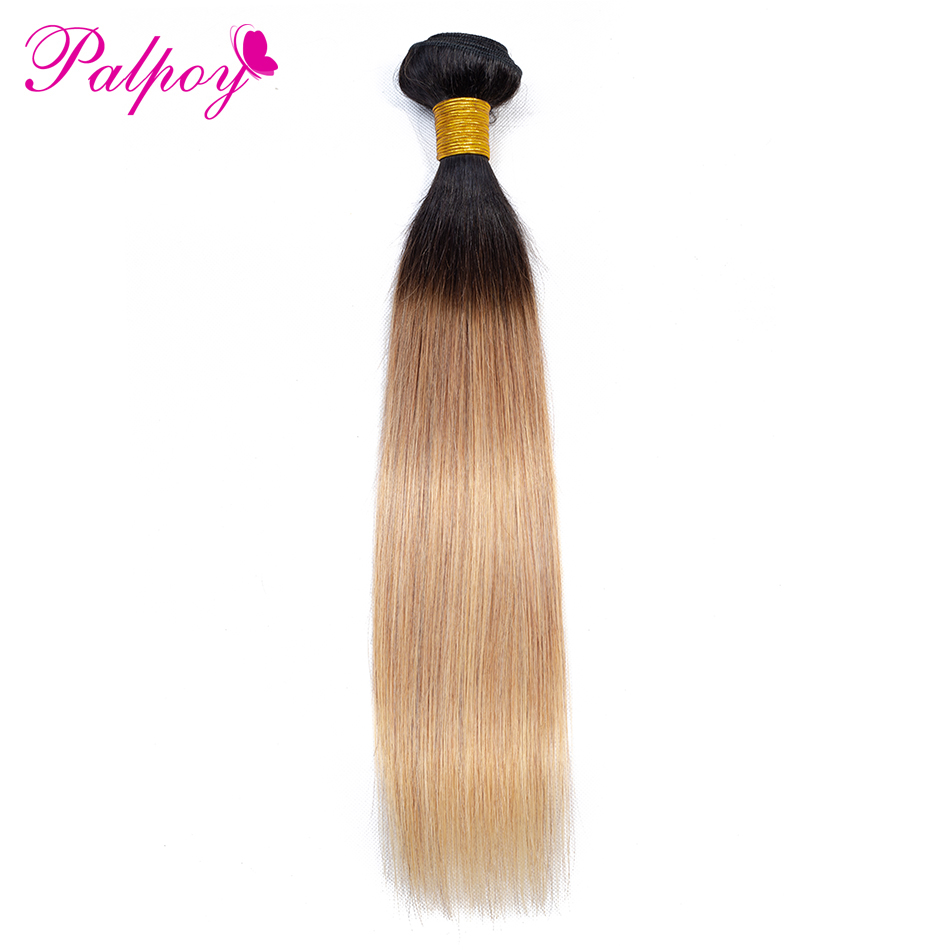 Hair Weaves Have An Inquiring Mind Palpoy Color 1b/27 Peruvian Straight Hair Weave Ombre Hair Extensions Two Tone Non Remy Hair Bundles 10-26 Inch Free Shipping Hair Extensions & Wigs