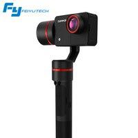 FeiyuTech Summon 3 Axis ручной бесщеточный карданный Камера шарнирный стабилизатор с 4 K 1080 P Экшн камера 16 мега Пиксели 2,0 дюймовым HD монитором под упра