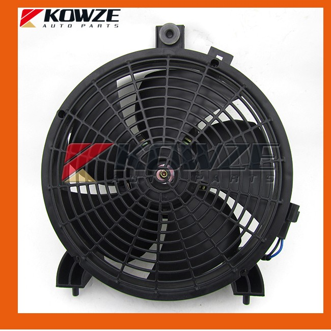 Air Condition Condenser Fan for Mitsubishi Pajero Sport Montero Challenger Nativa Pickup Triton L200 MN123607 new air condition condenser fan motor